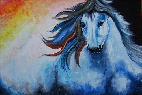 Equestrian Art Wildlife Paintings