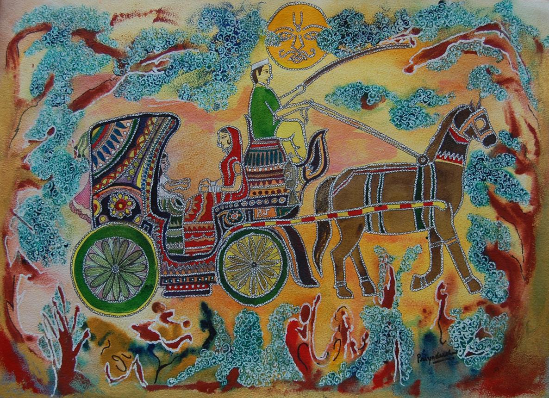 Horse Cart 12