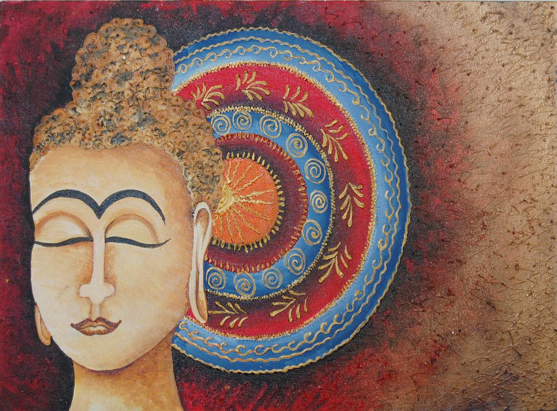 Meditating Buddha 1