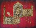 Metallic Embossed Ganesha  1