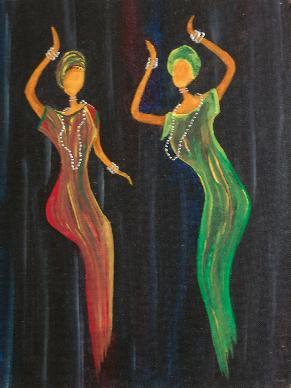 Dancing Ladies 12